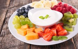Fruit Yogurt Cream Getty Images