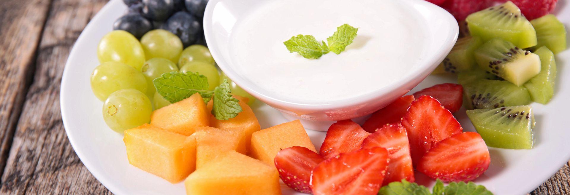 Fruit Yogurt Cream Getty Images