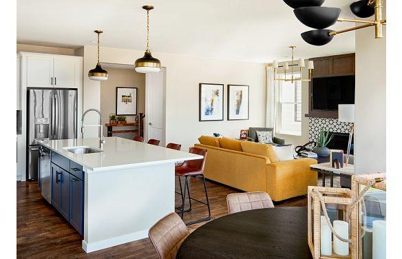 Solstice Stargaze Twilight Kitchen, Great Room