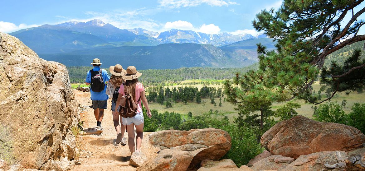 Hiking Trails Family Mountains Colorado Getty Images