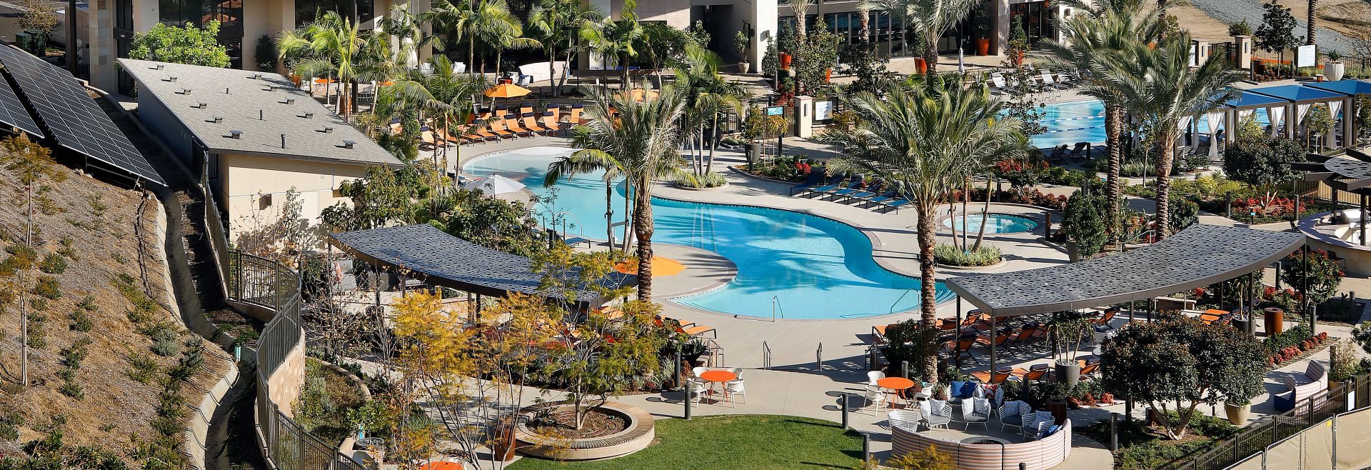 Civita recreation center and pools