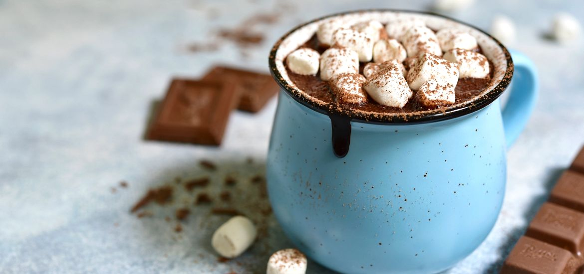 Blog Backyard Camping Cup of Cocoa