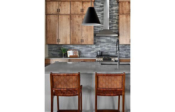 Solstice Horizon Amber Light Kitchen
