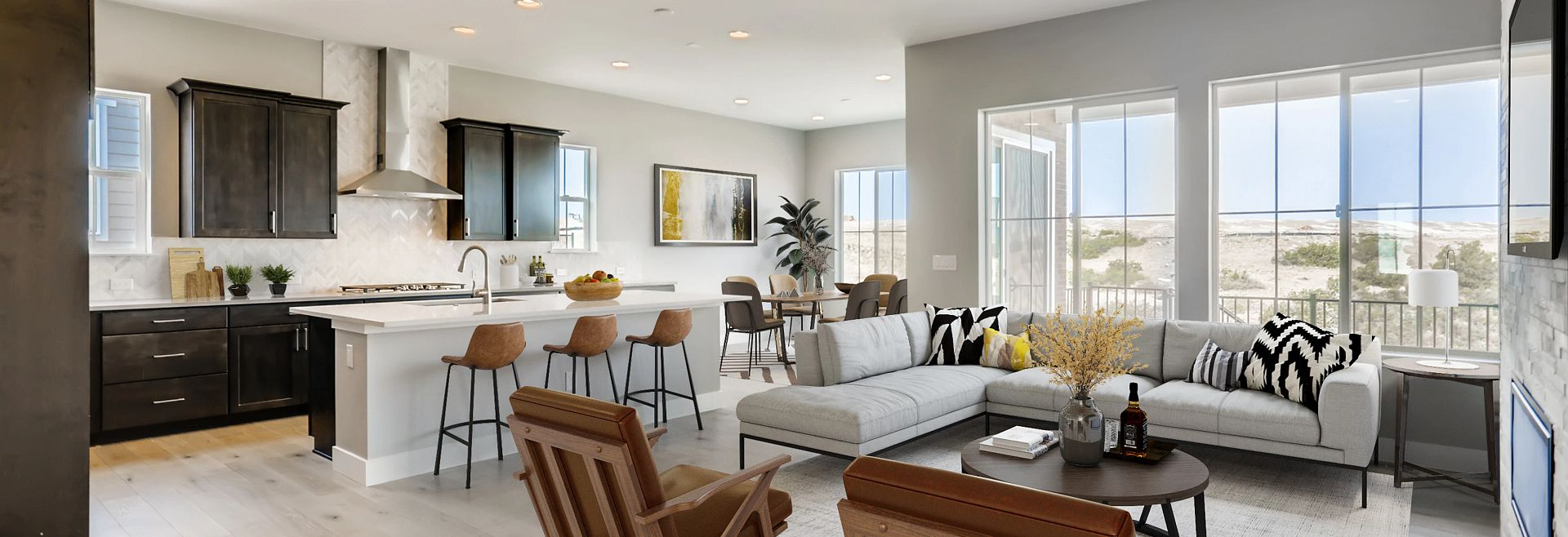 Canyons Reserve Heritage QMI Lot 816 Great Room, Kitchen, Dining