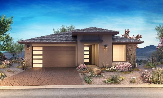 Desert Contemporary Exterior, Color 10