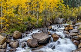 Guanella Pass Scenic Byway Creek Waterfall Getty Images
