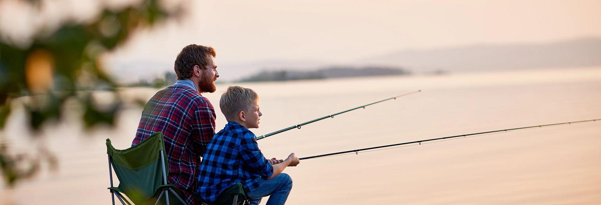 Blog Fishing at its Finest Dad Son Lake