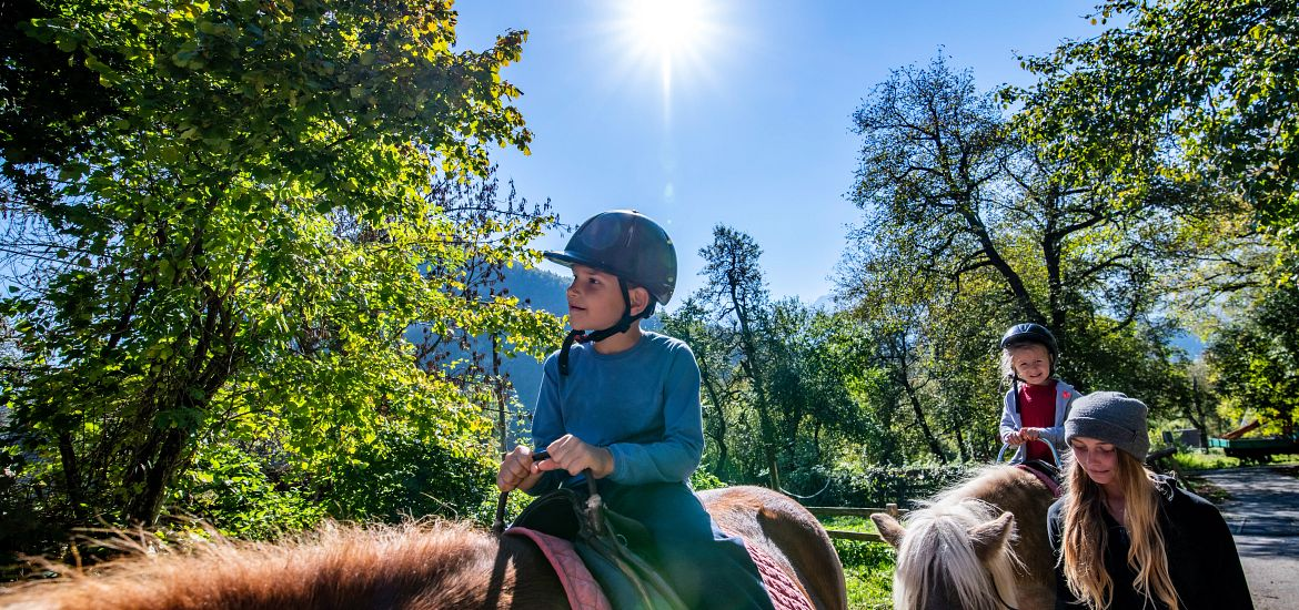 Horseback Riding Trails Family Getty Images