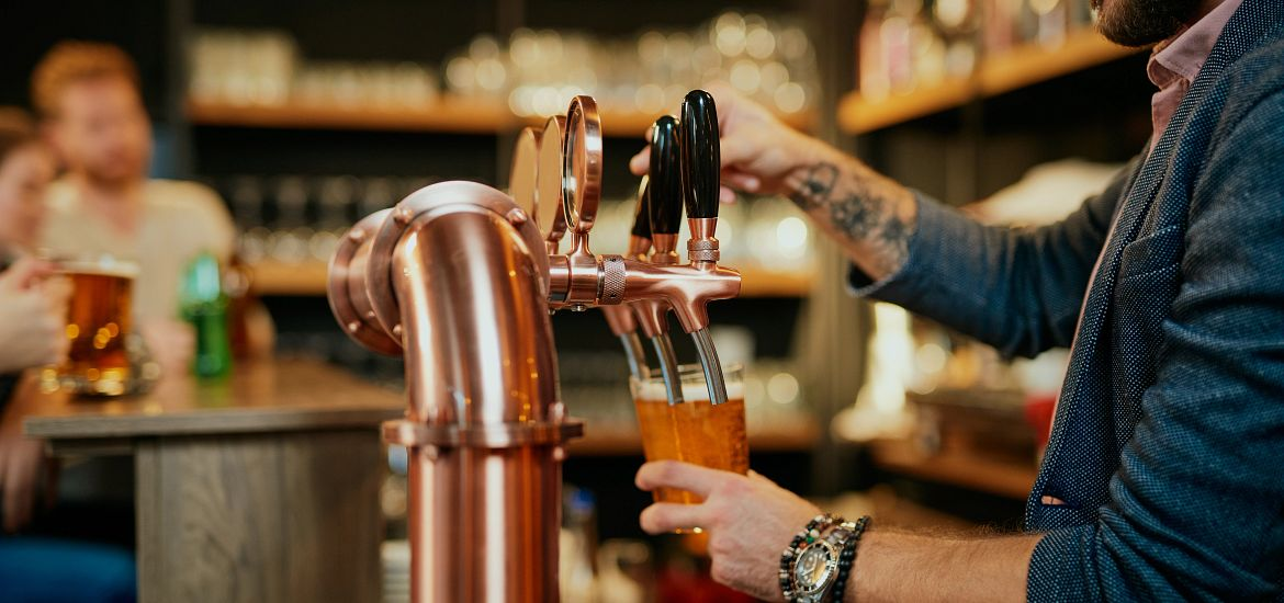 Brewery Beer Taps Getty Images