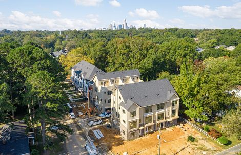 Aerial Photo of Midwood Homes