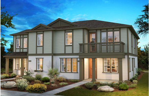Sea House Plans 4 & 2 Elevation A