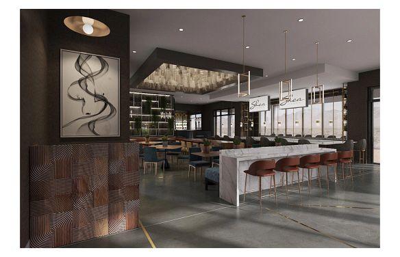 Trilogy Sunstone Cooper's Oak Restaurant & Bar Rendering